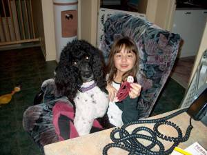 Is the standard poodle  good with children?